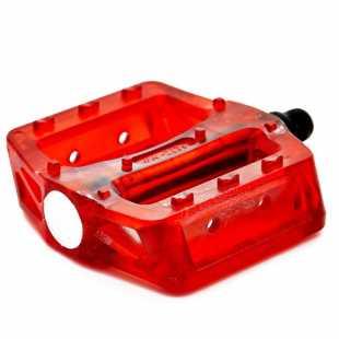 Педали пластиковые Vinca Sport 99*101мм красные