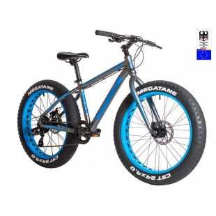 Велосипед Hartman Monster Disc 24 (2018) серо-синий (14
