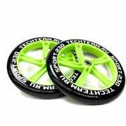 Набор колес и подшипников ABEC 7 для самоката 230мм зеленый...