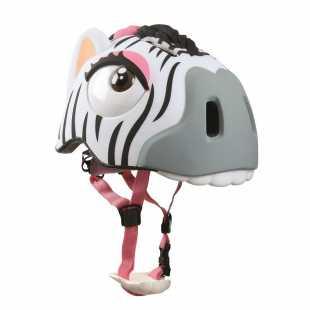 Детский велосипедный шлем Crazy Safety Zebra (2016) White (49-55 см)