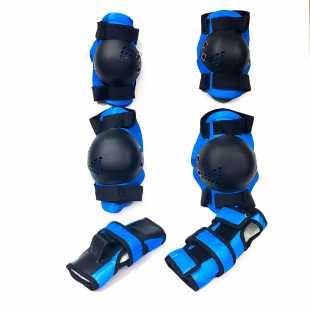 Комплект защита TT Attack синий (S)