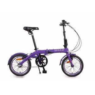 Складной велосипед Shulz Hopper 3 (2018) Фиолетовый (O/S)