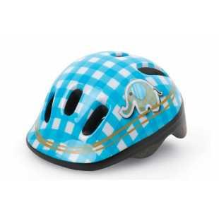 Детский велосипедный шлем Polisport Baby Elephant White/blue (44-48 см)