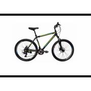 Велосипед Hartman Black Stone Pro 26 (2018) Black/green (19