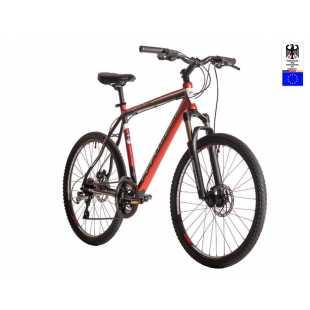 Велосипед Hartman Dragster Next Hidro Disc 26 (2017) черно-красный (21