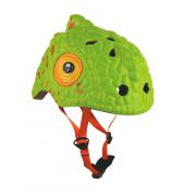 Детский велосипедный шлем Crazy Safety Cameleon Green (49-55...