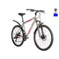 Велосипед Hartman Dragster Pro Disc 26 (2018) бело-красный (...