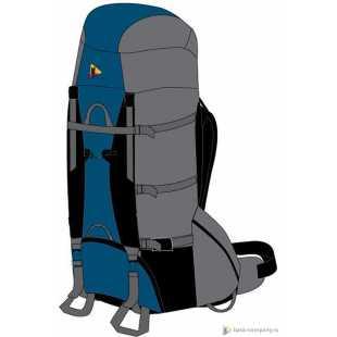 Туристический рюкзак BASK ANACONDA 120 V3 3495