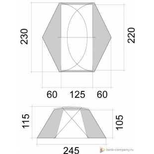 Палатка BASK SHARK FIN 3512
