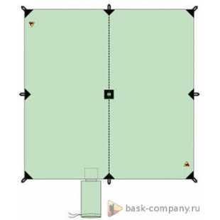 Туристический тент BASK CANOPY V3 3x3 3522